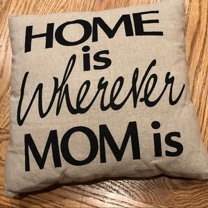 Mom Accent Pillow